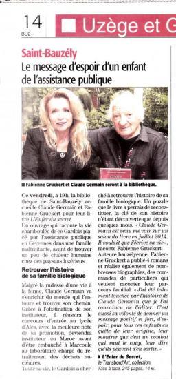 article pour du 13 juin Midi Libre