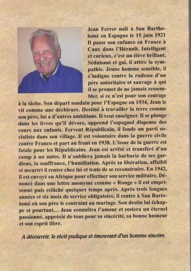 biographie de m Ferrer verso