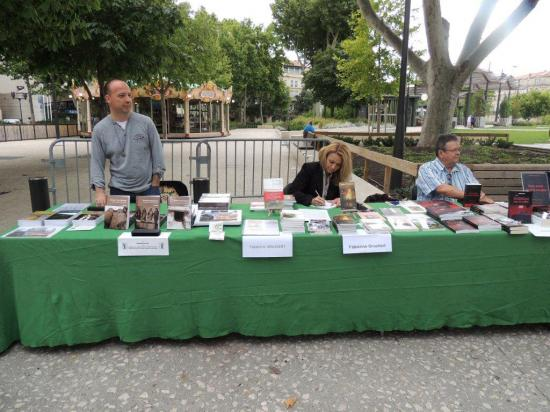les jardins du livre de Nîmes 29.06.2014